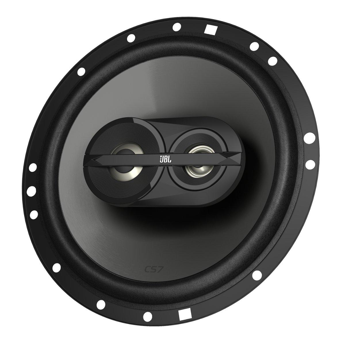 JBL CS763 CS-Series 6.5in 135 Watts Peak 3-Way Coaxial Car Audio Loudspeaker