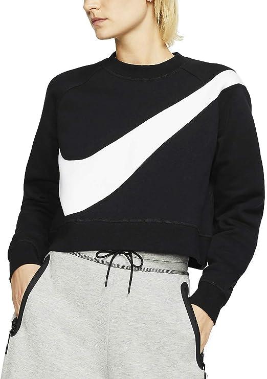 Nike Sportswear Swoosh Sudadera para Mujer - algodón: Amazon.es ...