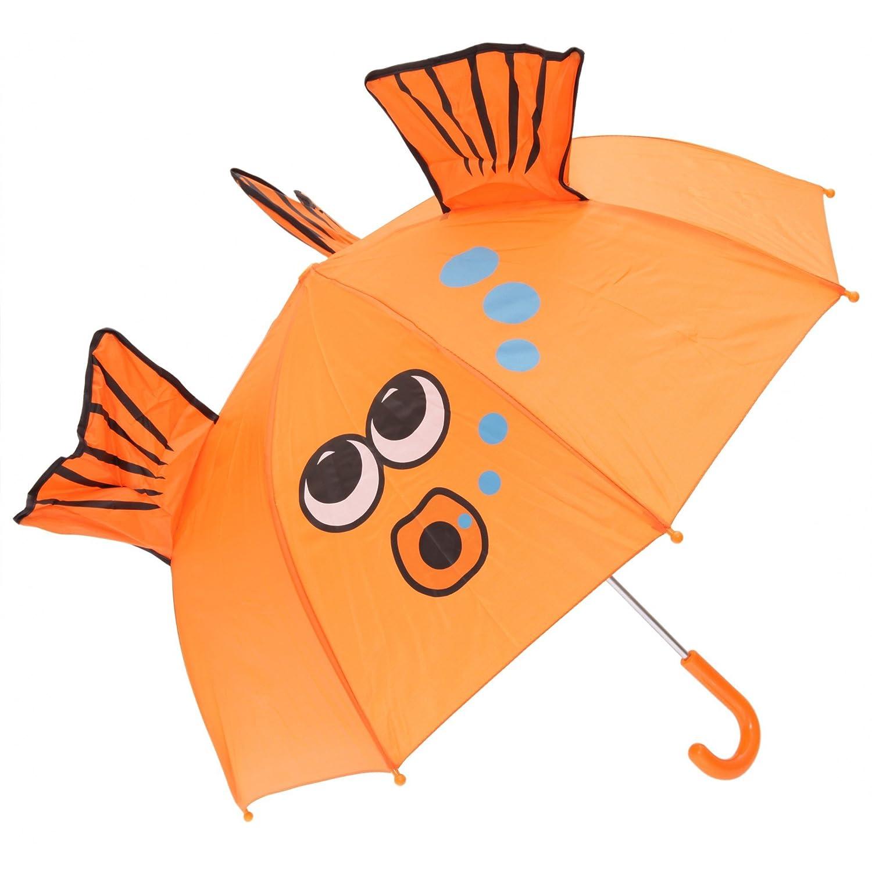 gar/çon et fille Parapluie /à motif animal