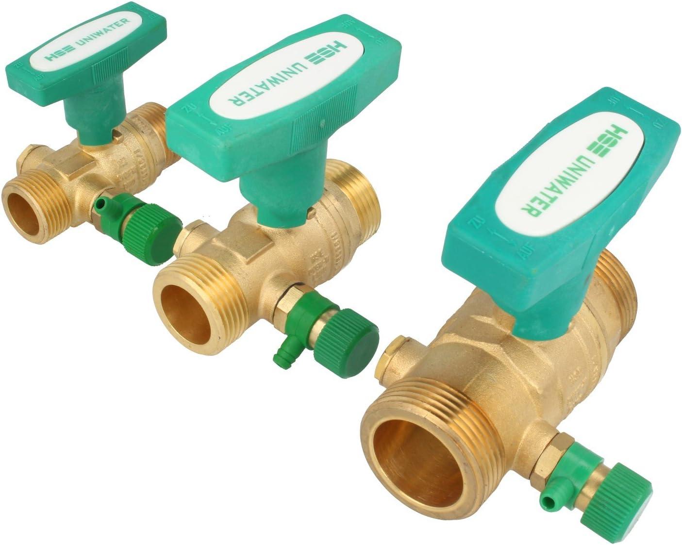 """Uniwater Trinkwasser Kugelhahn Absperrventil  2/"""" 2 Zoll  DVGW DN 50 ***NEU***"""