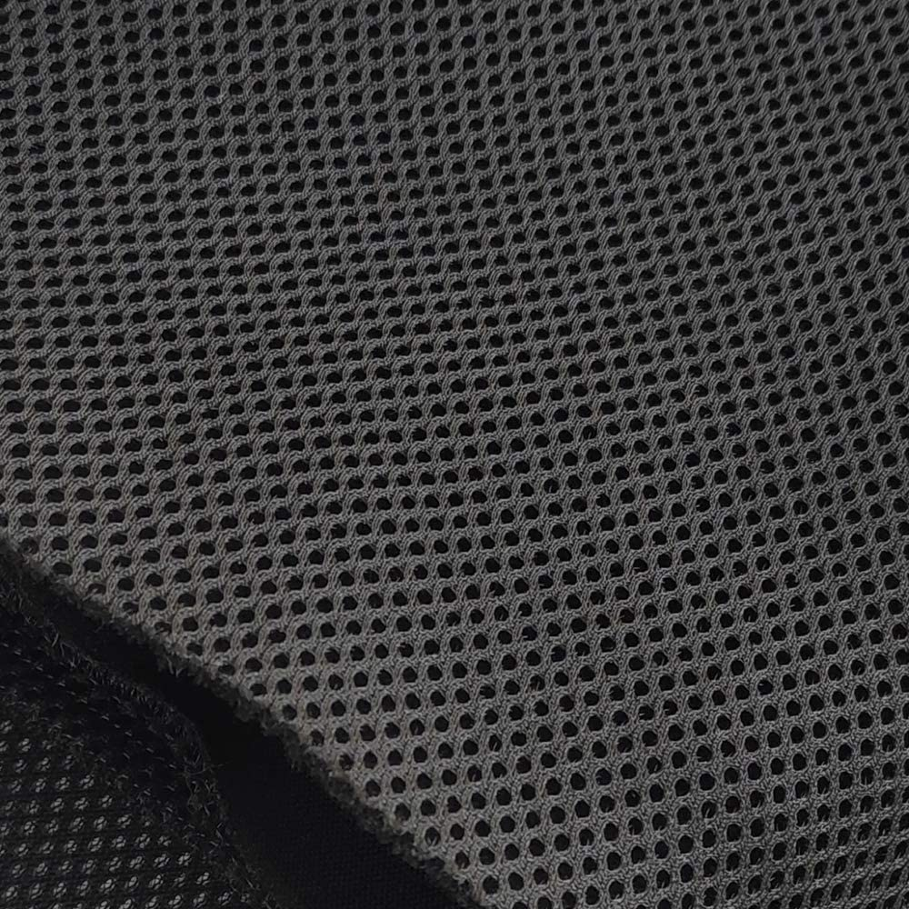 WAYBER Speaker Grill Cloth Stereo Mesh Fabric for Speaker Repair, Black -  9 x 9 in / 9 x 9 cm