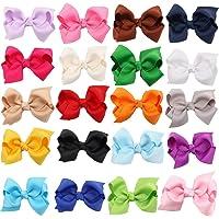Pajaritas de colores para el pelo de clip
