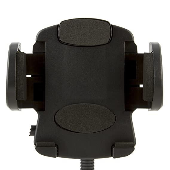 30d83000f5540f Image Unavailable. Image not available for. Color: EMPIRE Cell Phone / GPS  / Mobile Phone Car Windshield Flexible Arm Mount and Adjustable Claw