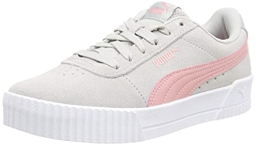 Puma 366035 02, Mädchen Sneaker Metallic SilverMetallic