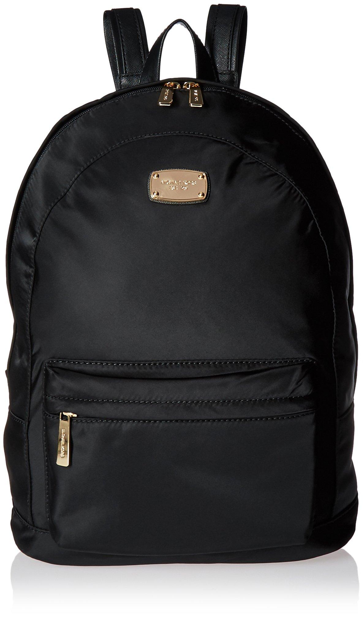 Michael Kors Jet Set Item LG Backpack Tote Handbag Purse Bag Black