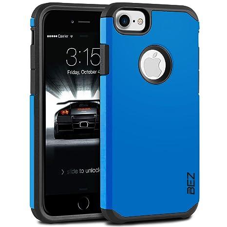 BEZ Funda iPhone 8, Carcasa Compatible para iPhone 7, iPhone 8, Antideslizante Ultra Híbrida Gota Protección, Cover Anti-Arañazos con Absorción de ...