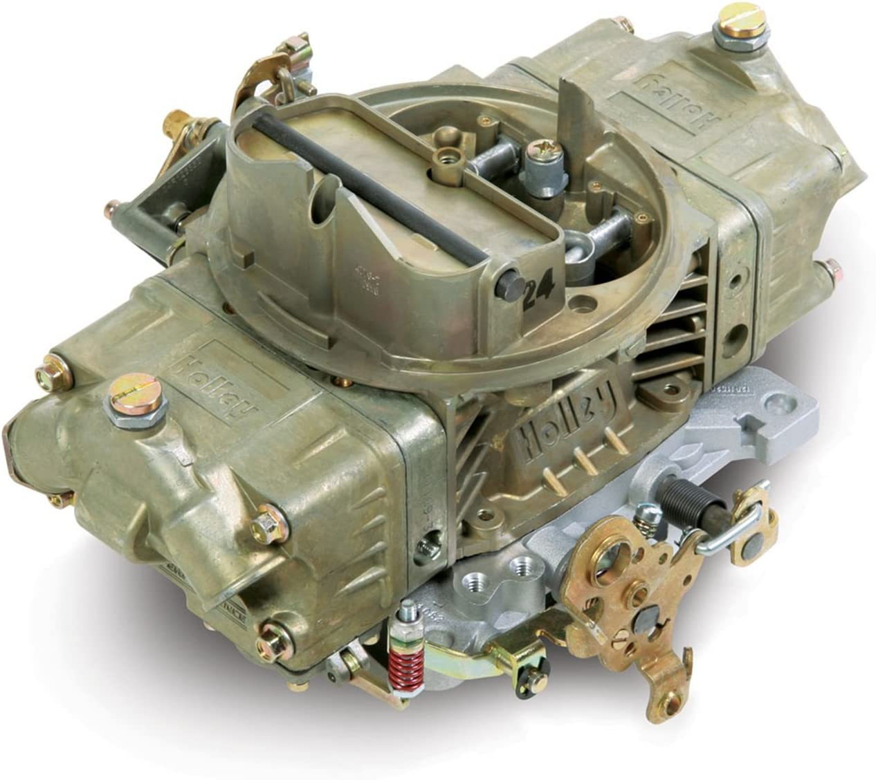 B00029J4G0 Holley 0-4776C Model 4150 Double Pumper 600 CFM Square Bore 4-Barrel Mechanical Secondary Manual Choke New Carburetor 71SJmIRwOuL.SL1500_