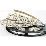 Sirio Bright - Striscia flessibile LED Professionale, 600 LED SMD 2835, 11.000 Lumens, bianco naturale 4000K, bobina 5 metri, Non Impermeabile IP20