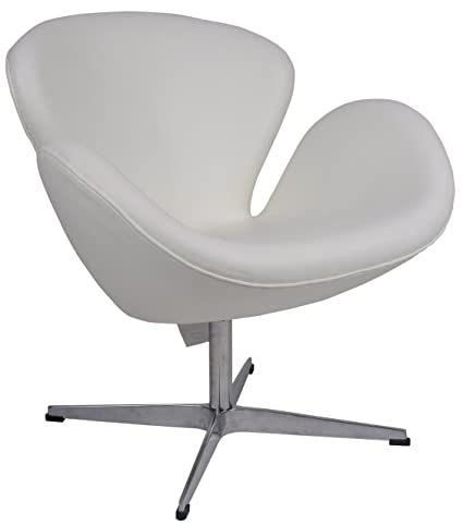 Amazoncom Mlf Arne Jacobsen Swan Chair Aniline Leather Hand Sewn