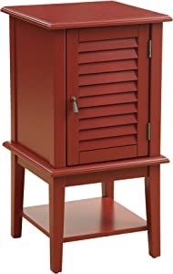 ACME Furniture Acme Hilda II Floor Cabinet, Red, One Size