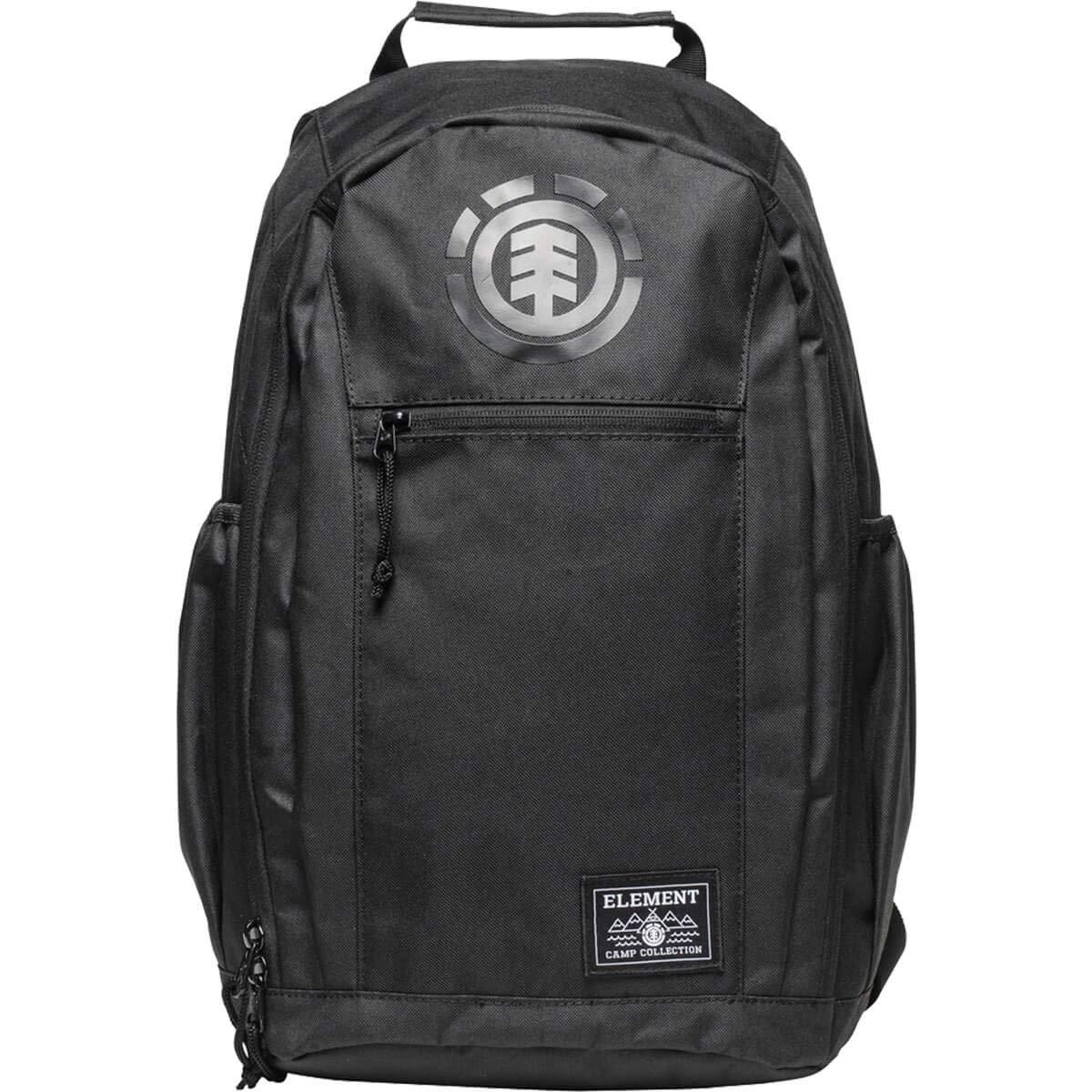 One Size Fits All Element Skateboards Sparker All Black Backpack