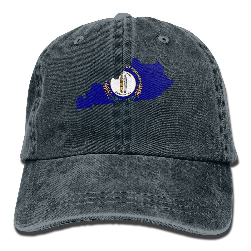 SDFS83 Kentucky Adult Cowboy Hat Baseball Cap Adjustable Athletic Personalized Summer Hat For Men and Women
