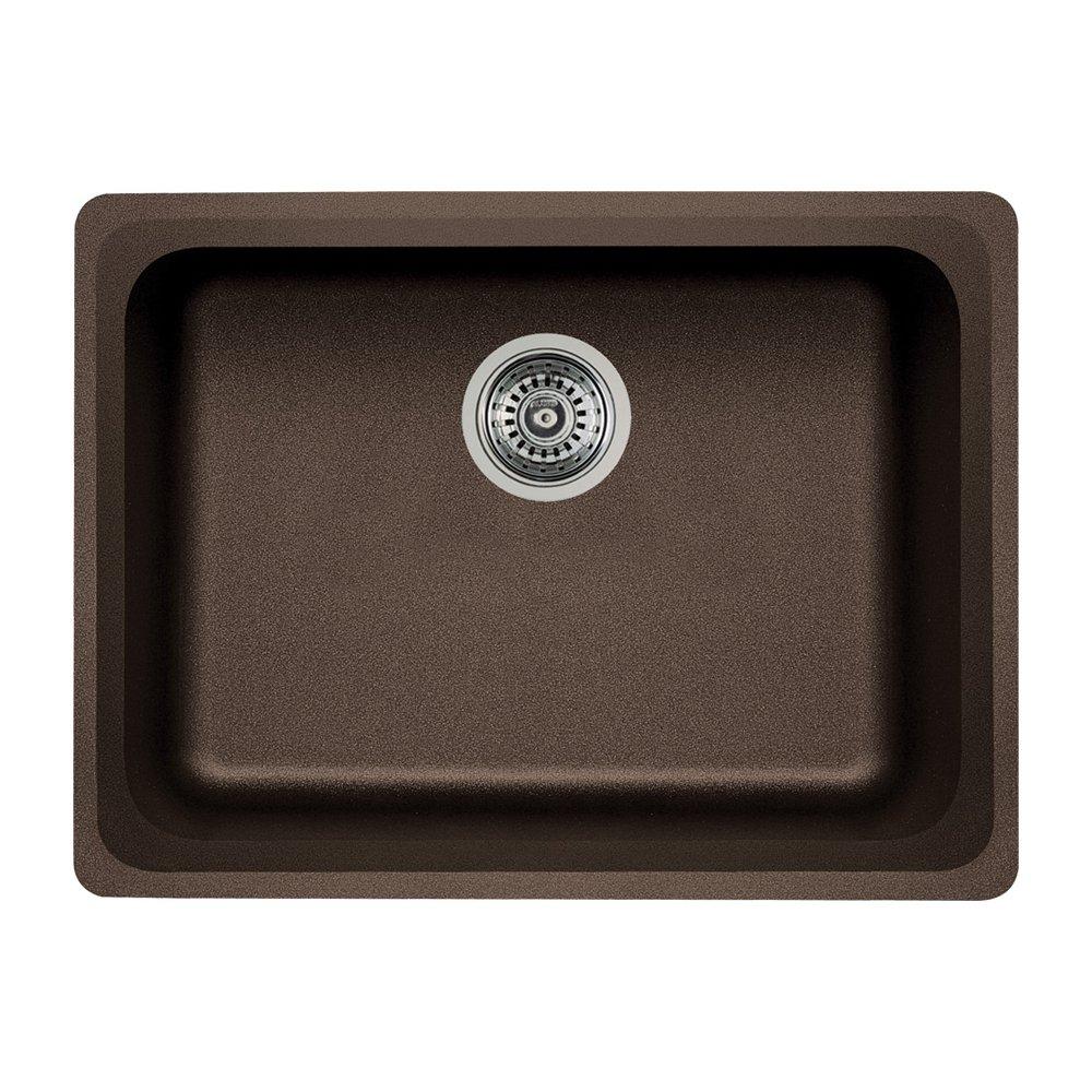 Blanco 441369 Silgranit II Vision Single Bowl, Cafe Brown   Single Bowl  Sinks   Amazon.com