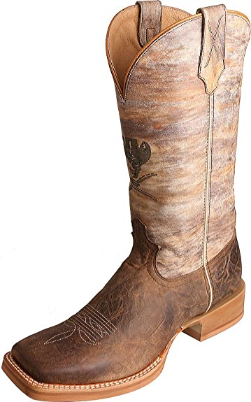 091c921c4b3 Amazon.com | Twisted X Mens Ruff Stock Rnd Multi Boots | Western