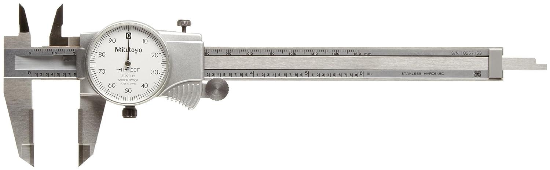 "Mitutoyo 505-742 Dial Caliper 0-6/"" .1/"" Range per Revolution"