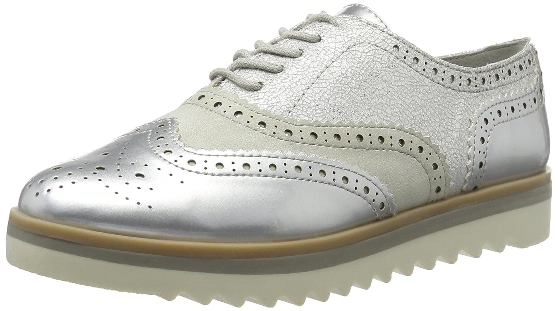 Marco Tozzi 23705, Zapatos de Vestir para Mujer 40 EU|Plateado (Silver Met.com 939)