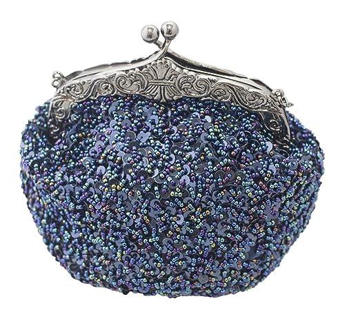 Amazon.com: Chicastic bolsa completamente bordada con ...