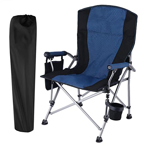 Amazoncom Kaluo Portable Outdoor Camping Chair Ergonomic High