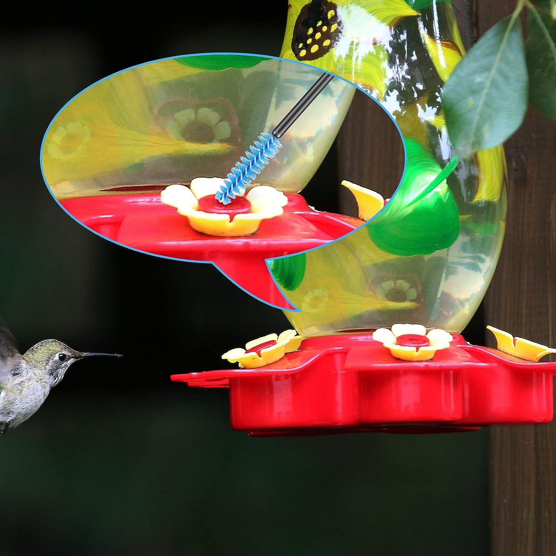 Outus 12 Pieces Hummingbird Feeder Cleaning Brush Mini Nylon Brush ...