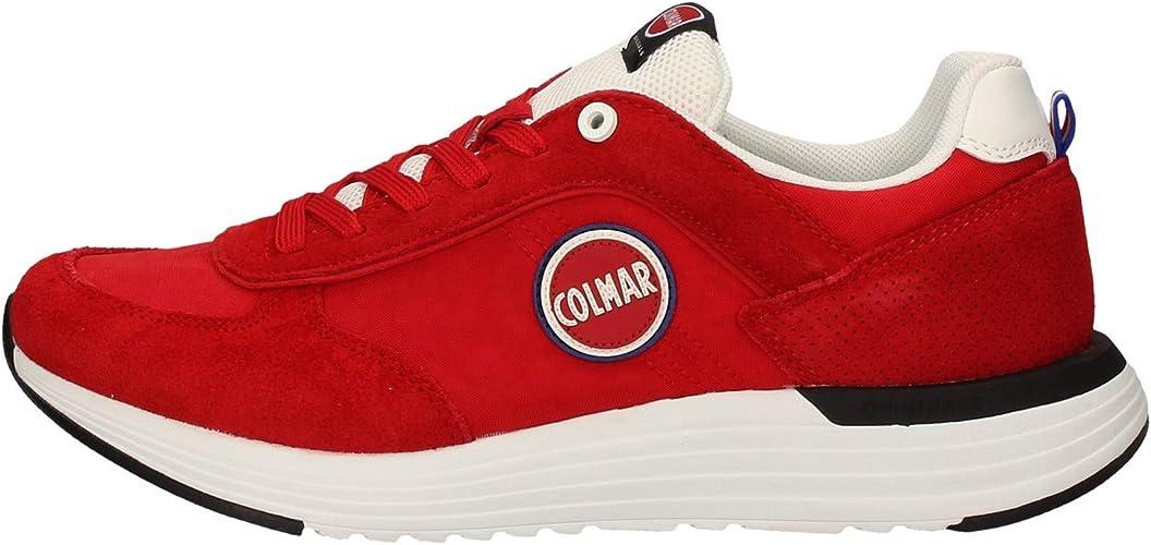 COLMAR Herrenschuhe Sneaker Travis X 1 Bold 008 red