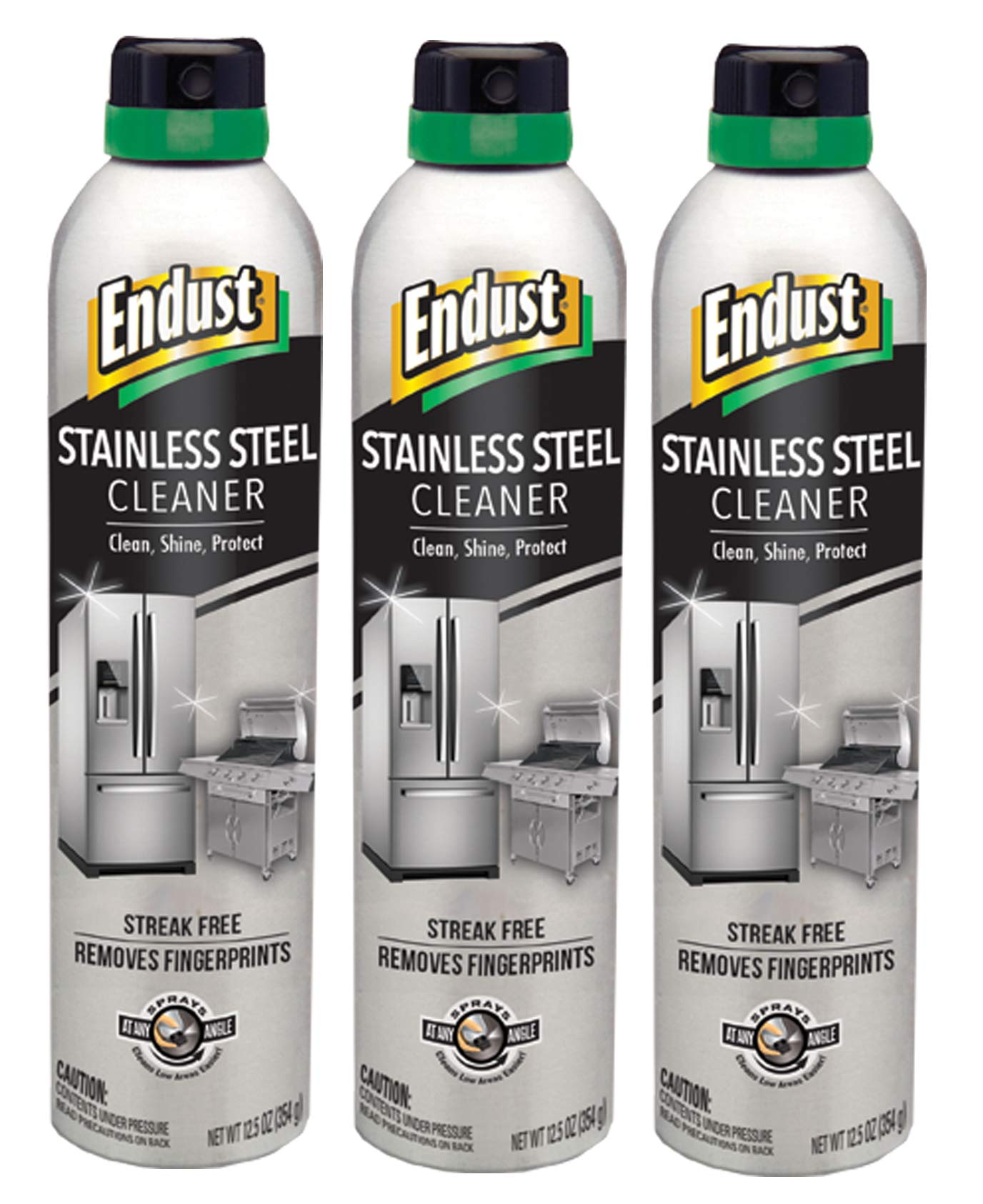 Endust Endust Stainless Steel Cleaner, 3 Count by Endust