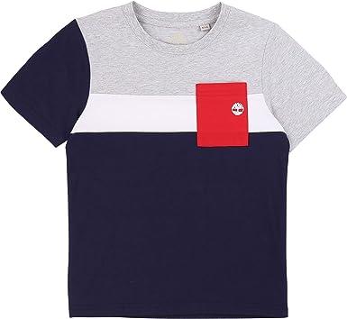 Timberland Camiseta Bolsillo Tipo Parche NIÑO: Amazon.es: Ropa y accesorios