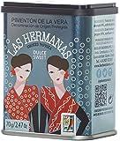 Las Hermanas Pimentón de la Vera D.O.P Dulce Ahumado - geräuchertes süßes Paprikapulver, 1er Pack (1 x 70 g)