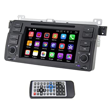 QSICISL Single Din Android 7 1 for BMW E46 7 inch In: Amazon co uk