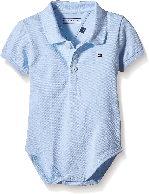 Tommy Hilfiger Kn0kn00461 Body, Azul (Baby Blue), 80 Unisex bebé ...