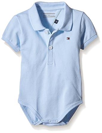 Tommy Hilfiger Basic Polo Body Ss, Bébé garçon, Bleu (Baby