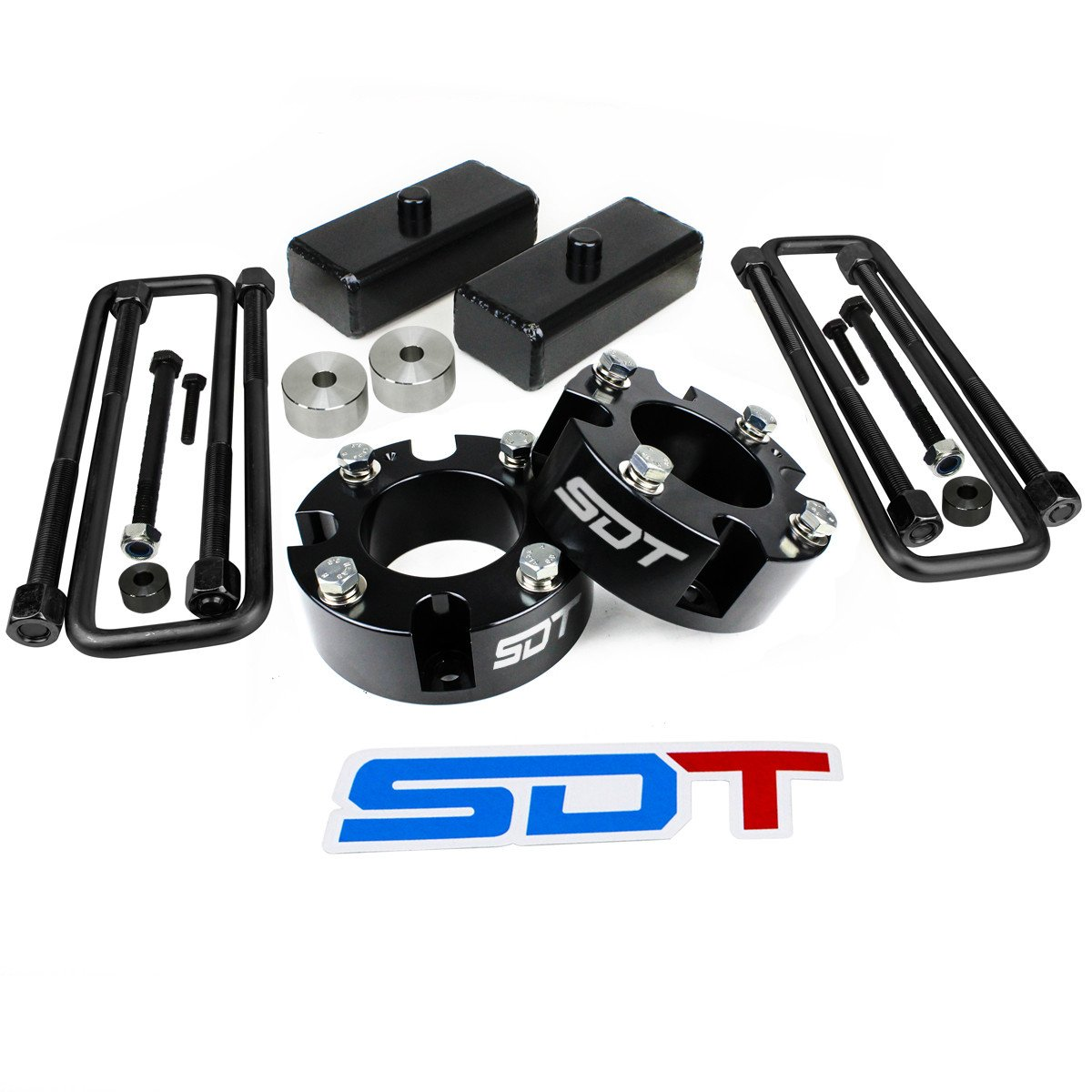 Toyota Tundra 4WD 2WD Full Lift Leveling Kit 3 Front 1.5 Rear with Differential Drop