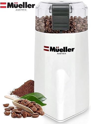 Mueller Austria HyperGrind Precision Electric Spice Coffee Grinder Mill