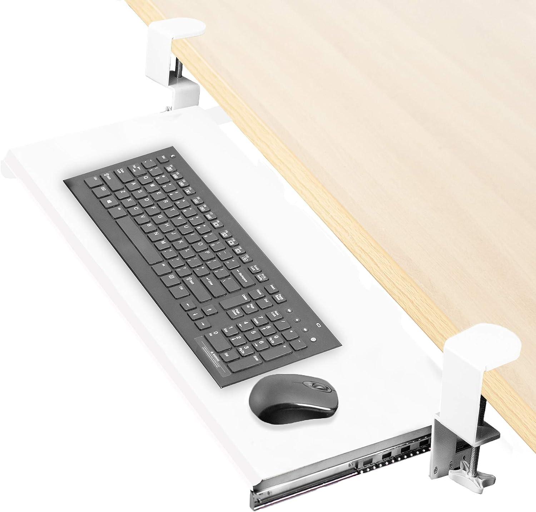 VIVO Bandeja de montaje para teclado y ratón de computadora ...