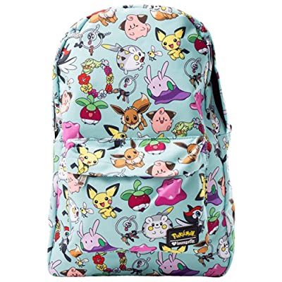 delicate Loungefly x Pokemon All Time Fave AOP Backpack