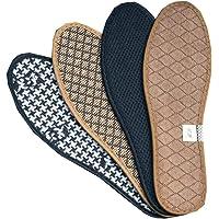 4 pares de plantillas sanas y respirables Zapatos desodorante inserta almohadones para hombres/mujeres, A