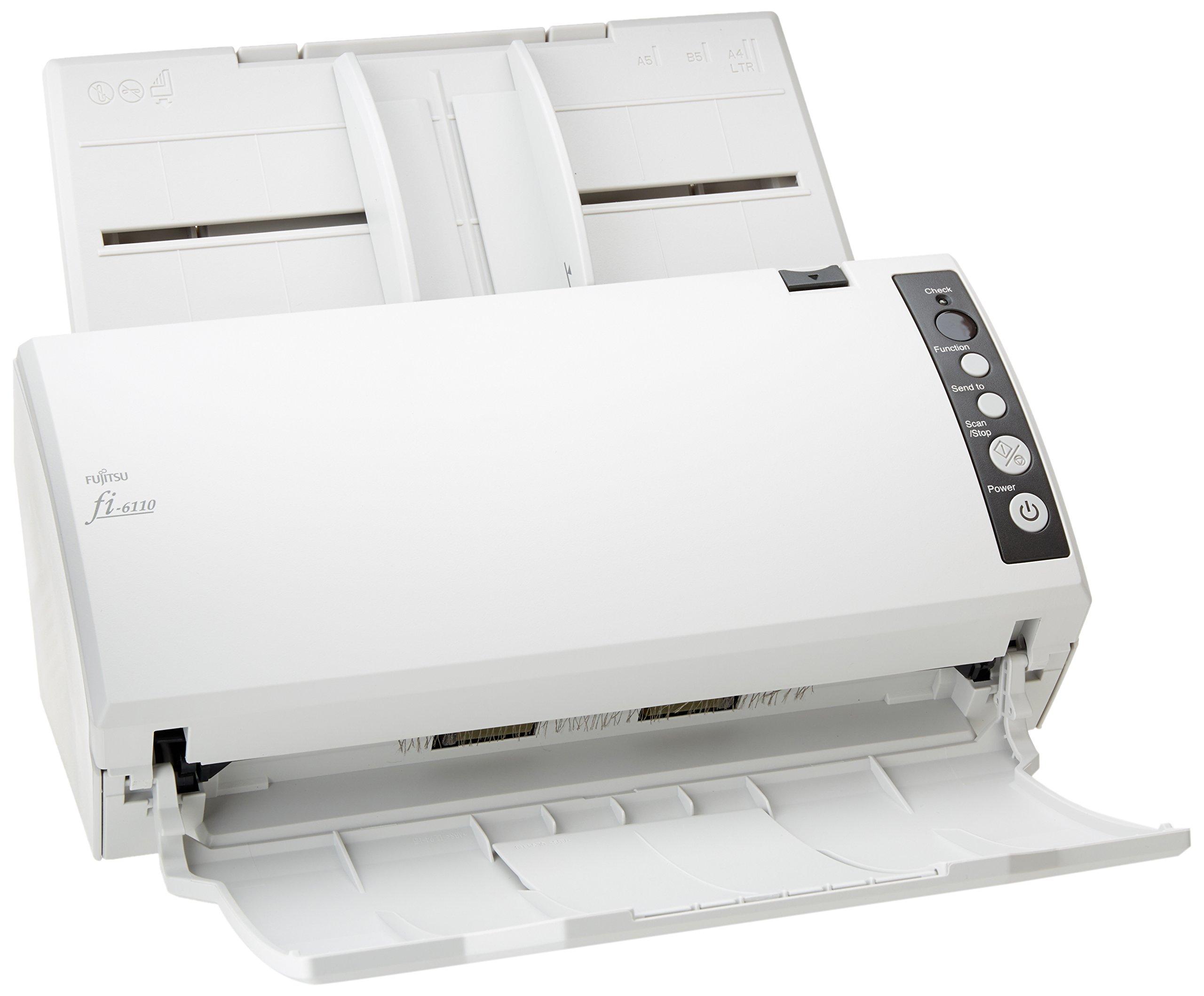 Fujitsu Fi-6110 Document Scanner Pa03607-B065 2