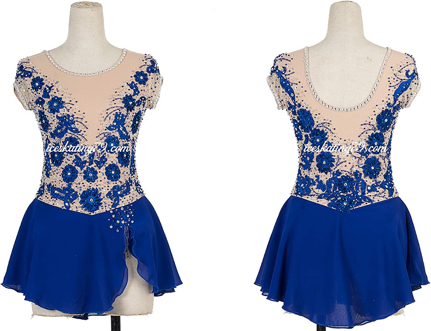 New Ice Figure Skating Dress Baton Twirling Dress For Competition Costume