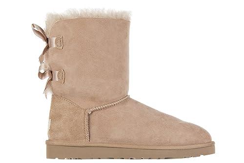 UGG Botines Botas Mujer Bailey Bow Rosa: Amazon.es: Zapatos y complementos