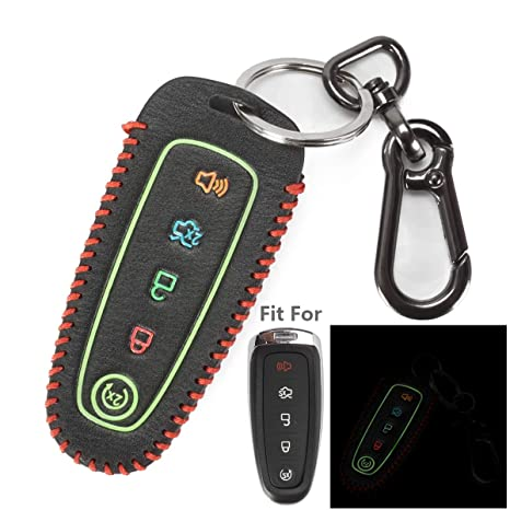 5 Button Remote Smart Key Cover Case Fit For Ford Flex Explorer Lincoln MKS MKT
