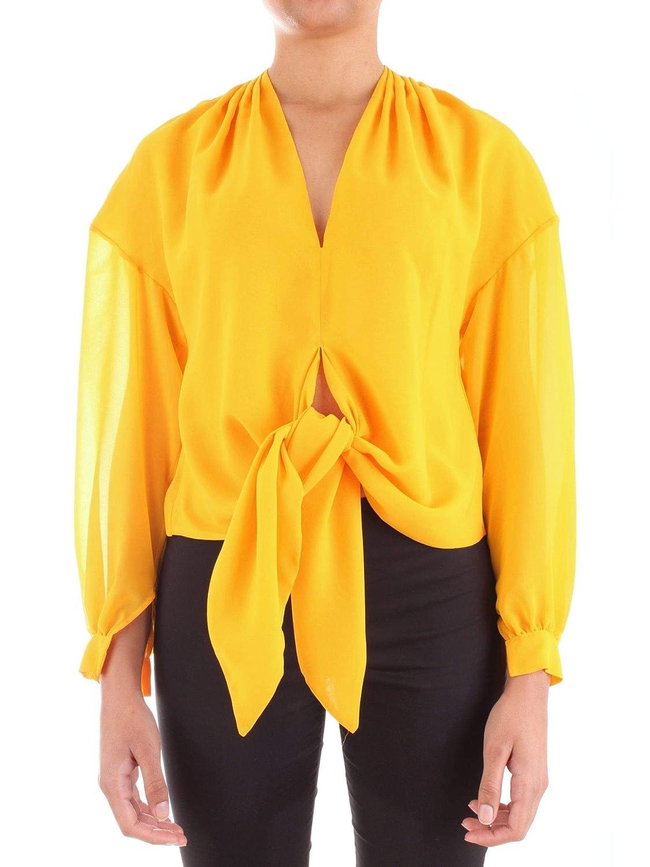 Annarita N Women's A314yellow Yellow Viscose Blouse