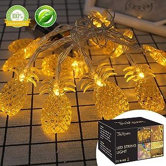 Led Lichterkette Led String Licht Aussen Ananas Led Lichterkette