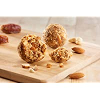 Wowladdus - Dry Fruit Supreme Laddus - 220 Grams - 6 Pieces - Indian Dessert Sweet Mithai