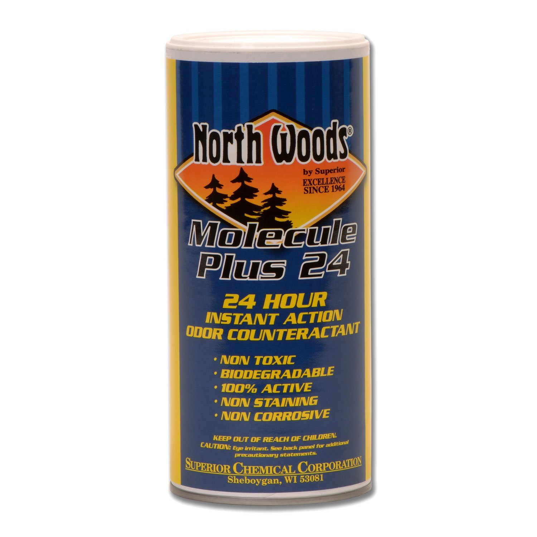 Molecule Plus 24 - Instant Carpet Deodorizer, Nontoxic, Biodegradable, Pet Safe, Shampoo Safe, Removes Pet Odors and Smoke Odors (Pack of 12)