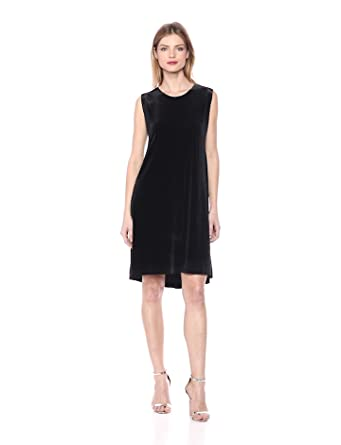 93cf8de0a3095d Amazon.com  Norma Kamali Women s Sleeveless Swing Dress  Clothing