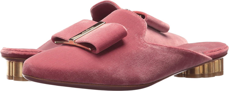 Salvatore Ferragamo Women's Sciacca Mules B06XKN52RM 8.5 B(M) US|Newgriotte/Blush/Bonbon