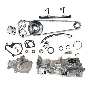 Water Pump Fits 93-01 Nissan Altima 2.4L L4 DOHC 16v