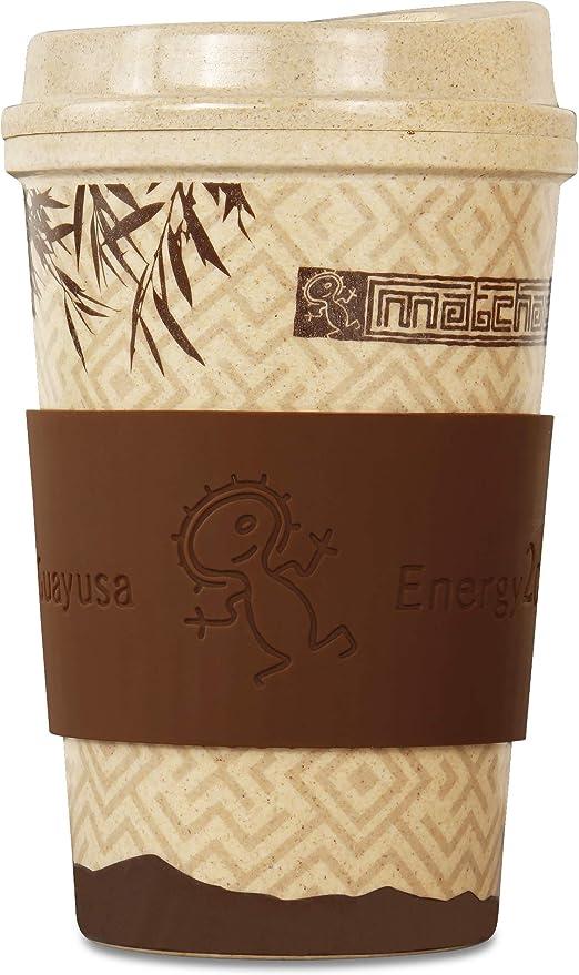 Matchachin Vaso de arroz Energy2Go (400 ml) [Taza de café ...