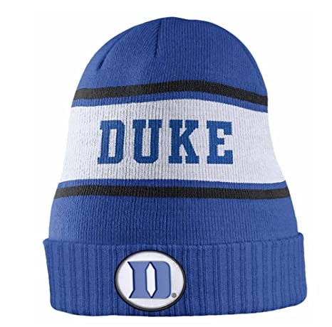 ... switzerland duke blue devils nike sideline knit beanie cap hat blue  white 75bde fe1a9 4d4ace08a19