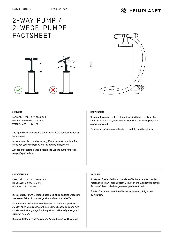 HEIMPLANET 2-Way Pumpe