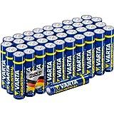 Varta Industrial Batterie AAA Micro Alkaline Batterien LR03-40er Pack, Made in Germany, umweltschonende Verpackung